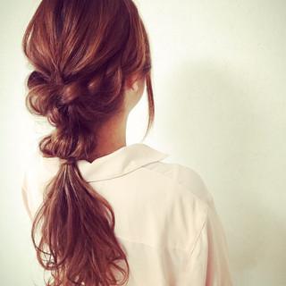 外国人風 大人女子 ゆるふわ 小顔 ヘアスタイルや髪型の写真・画像
