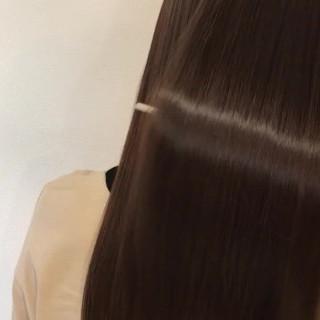 ナチュラル ロング くせ毛風 美シルエット ヘアスタイルや髪型の写真・画像
