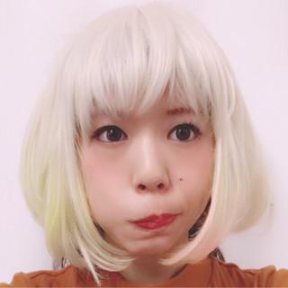 ボブ 外国人風 ウィッグ ストリート ヘアスタイルや髪型の写真・画像