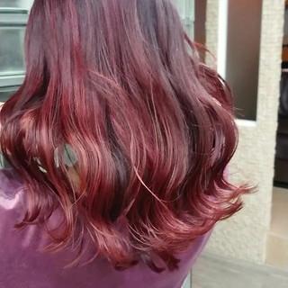 TOKIOトリートメント フェミニン ピンクカラー 銀座美容室 ヘアスタイルや髪型の写真・画像