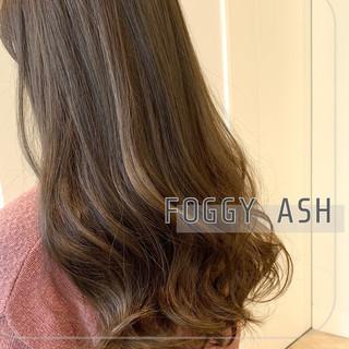 透明感カラー ナチュラル 髪質改善トリートメント イルミナカラー ヘアスタイルや髪型の写真・画像