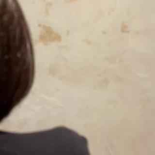 ナチュラル ボブ 簡単ヘアアレンジ アディクシーカラー ヘアスタイルや髪型の写真・画像