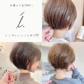ショート 大人かわいい アンニュイほつれヘア ショートヘア ヘアスタイルや髪型の写真・画像