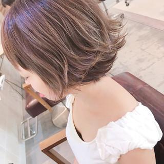 夏 結婚式 ショート 簡単ヘアアレンジ ヘアスタイルや髪型の写真・画像