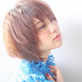 森山奈都さんのヘアスナップ