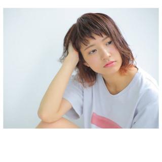 ピュア 大人かわいい 前髪あり パーマ ヘアスタイルや髪型の写真・画像
