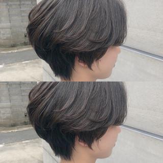 ボブ ナチュラル ショートボブ ショート ヘアスタイルや髪型の写真・画像