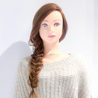 バレンタイン デート ヘアアレンジ ゆるふわ ヘアスタイルや髪型の写真・画像