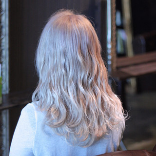 モテ髪 ウェットヘア ストリート セミロング ヘアスタイルや髪型の写真・画像