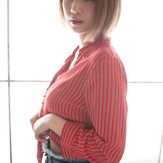 色気 ショート ナチュラル 大人女子 ヘアスタイルや髪型の写真・画像