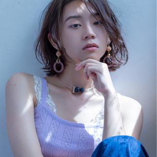 大人女子 外ハネ アンニュイ ゆるふわ ヘアスタイルや髪型の写真・画像