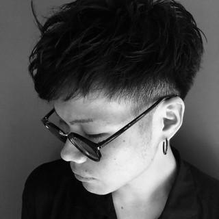 ナチュラル メンズカット メンズヘア ショート ヘアスタイルや髪型の写真・画像