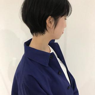 アウトドア デート ナチュラル ショート ヘアスタイルや髪型の写真・画像 ヘアスタイルや髪型の写真・画像