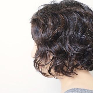 暗髪 アッシュ ボブ ナチュラル ヘアスタイルや髪型の写真・画像 ヘアスタイルや髪型の写真・画像