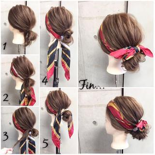 ヘアアクセ ヘアアレンジ ショート 大人女子 ヘアスタイルや髪型の写真・画像