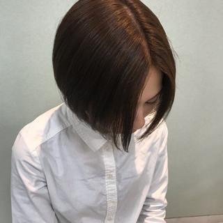オフィス ショート イメチェン モテ髮シルエット ヘアスタイルや髪型の写真・画像