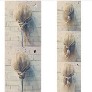 ロング 黒髪 結婚式 フェミニン ヘアスタイルや髪型の写真・画像