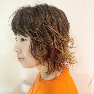 ブリーチ パーマ ショート グラデーションカラー ヘアスタイルや髪型の写真・画像