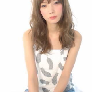大人かわいい 春 ブラウンベージュ 夏 ヘアスタイルや髪型の写真・画像