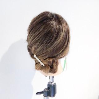 女子会 アウトドア ロング 簡単ヘアアレンジ ヘアスタイルや髪型の写真・画像