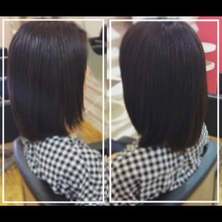 ナチュラル 黒髪 社会人の味方 髪質改善 ヘアスタイルや髪型の写真・画像