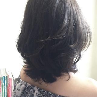 ナチュラル アッシュ 外国人風 イルミナカラー ヘアスタイルや髪型の写真・画像