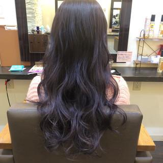 ストリート 暗髪 グラデーションカラー 黒髪 ヘアスタイルや髪型の写真・画像