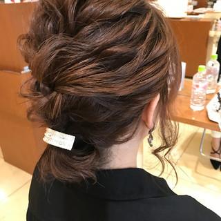簡単ヘアアレンジ ハーフアップ ショート 結婚式 ヘアスタイルや髪型の写真・画像 ヘアスタイルや髪型の写真・画像