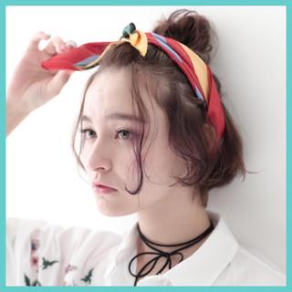 ヘアアレンジ ショート 簡単ヘアアレンジ ボブ ヘアスタイルや髪型の写真・画像 ヘアスタイルや髪型の写真・画像
