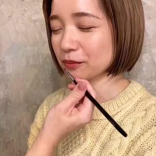 デート ナチュラル 大人女子 春 ヘアスタイルや髪型の写真・画像