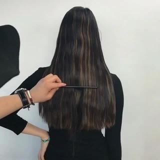 切りっぱなし 色気 モード ボブ ヘアスタイルや髪型の写真・画像