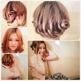 ストリート ねじり 簡単ヘアアレンジ 編み込み ヘアスタイルや髪型の写真・画像