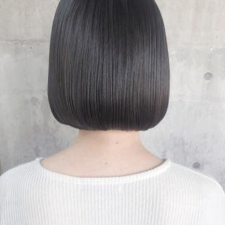 ミニボブ 大人かわいい 外国人風 ボブ ヘアスタイルや髪型の写真・画像