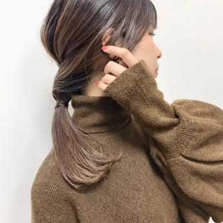 エレガント 大人女子 セミロング 大人カジュアル ヘアスタイルや髪型の写真・画像