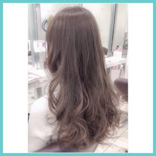 ハイライト フェミニン ナチュラル グラデーションカラー ヘアスタイルや髪型の写真・画像
