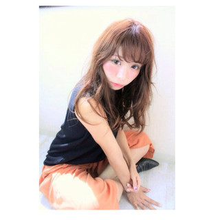 ガーリー 大人女子 色気 おフェロ ヘアスタイルや髪型の写真・画像 ヘアスタイルや髪型の写真・画像