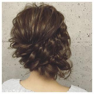 アップスタイル 結婚式 ヘアアレンジ お呼ばれ ヘアスタイルや髪型の写真・画像 ヘアスタイルや髪型の写真・画像