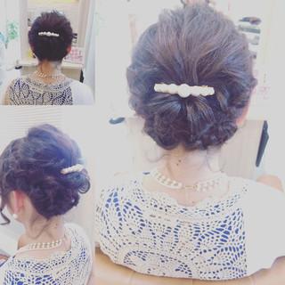 大人女子 編み込み ボブ ヘアアレンジ ヘアスタイルや髪型の写真・画像 ヘアスタイルや髪型の写真・画像