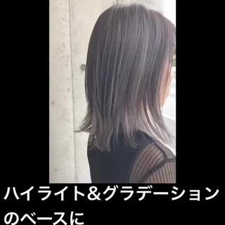 ハイライト グラデーションカラー ナチュラル 透明感カラー ヘアスタイルや髪型の写真・画像 ヘアスタイルや髪型の写真・画像