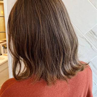 銀座美容室 ナチュラル ボブ 髪質改善カラー ヘアスタイルや髪型の写真・画像