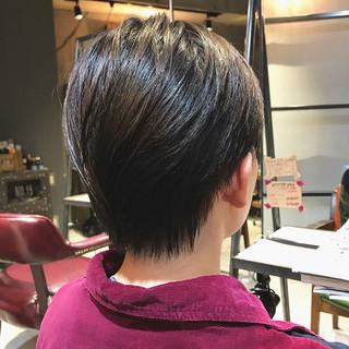 大人かわいい ナチュラル oggiotto ハンサムショート ヘアスタイルや髪型の写真・画像