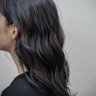 アウトドア ゆるふわ ヘアアレンジ 簡単ヘアアレンジ ヘアスタイルや髪型の写真・画像