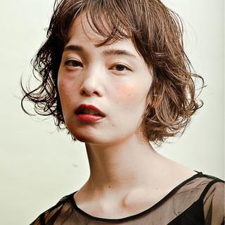 透明感 ストリート ボブ 女子力 ヘアスタイルや髪型の写真・画像 ヘアスタイルや髪型の写真・画像