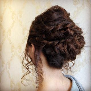 ナチュラル 簡単ヘアアレンジ スポーツ 結婚式 ヘアスタイルや髪型の写真・画像