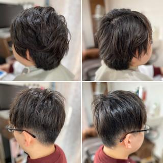 スキンフェード フェードカット ショート メンズショート ヘアスタイルや髪型の写真・画像