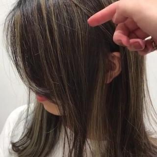 フェミニン 簡単ヘアアレンジ エフォートレス セミロング ヘアスタイルや髪型の写真・画像