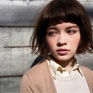 ストリート 大人女子 小顔 大人かわいい ヘアスタイルや髪型の写真・画像