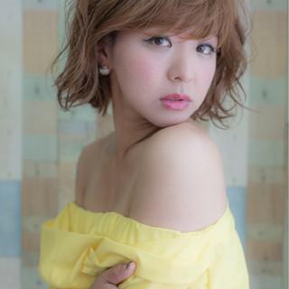 大人女子 こなれ感 透明感 ミディアム ヘアスタイルや髪型の写真・画像
