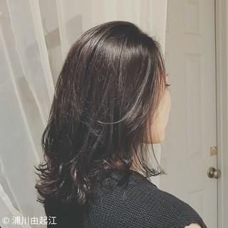 浦川由起江さんのヘアスナップ
