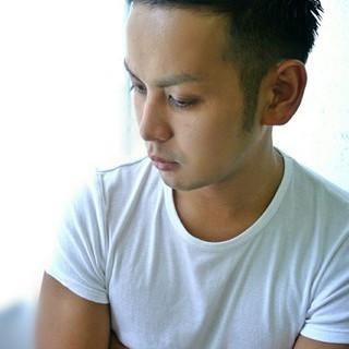 黒髪 かっこいい ショート ストリート ヘアスタイルや髪型の写真・画像